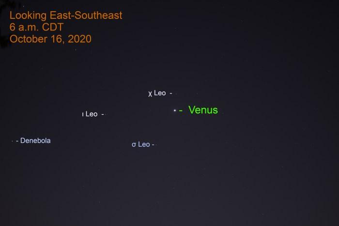 Venus in Leo, October 16, 2020
