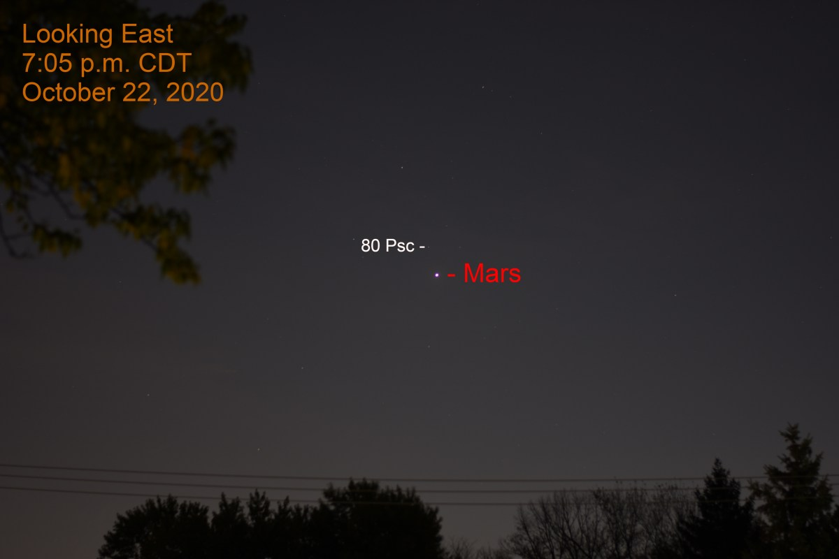 Mars in Pisces, October 22, 2020