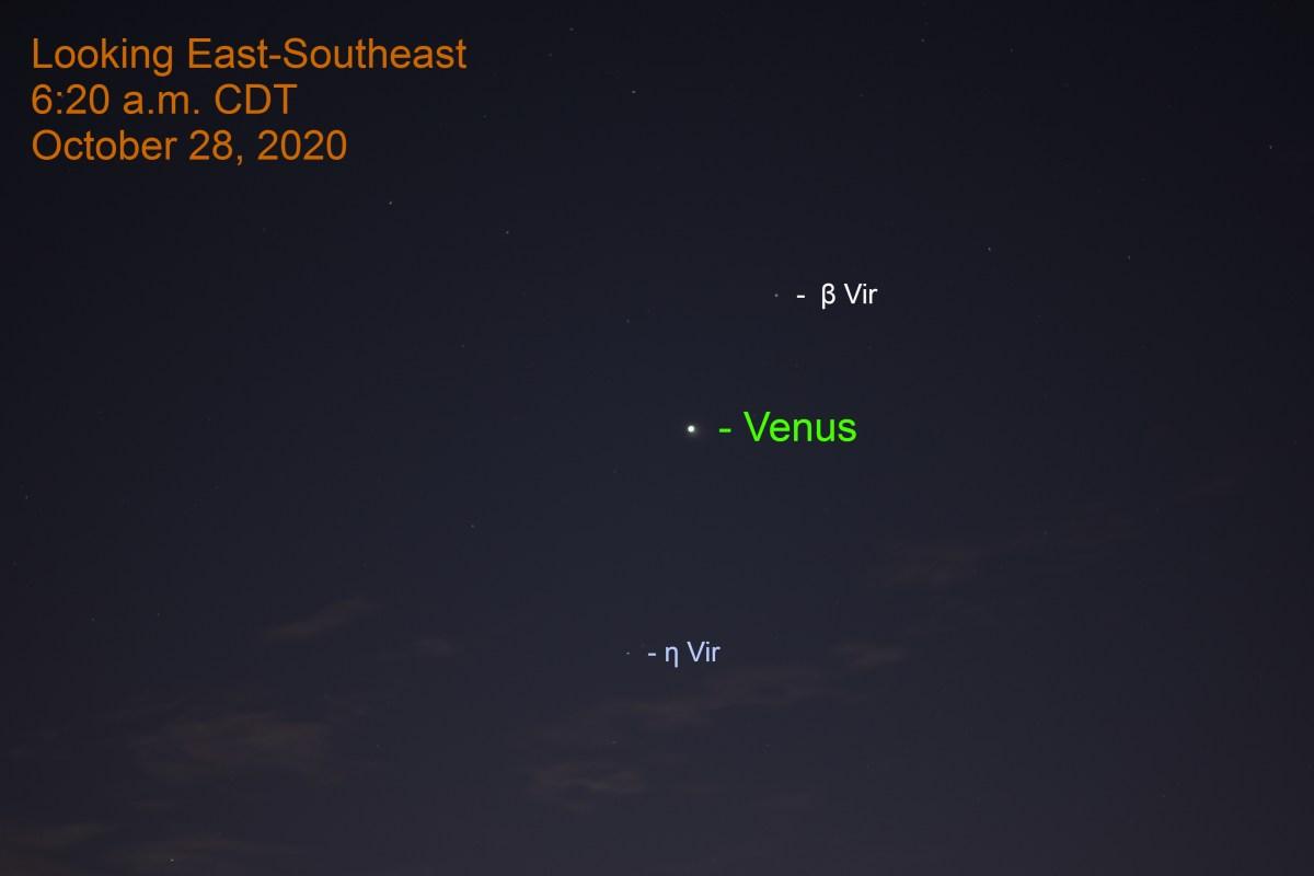 Venus in Virgo, October 28, 2020
