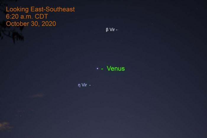 Venus in Virgo, October 30, 2020
