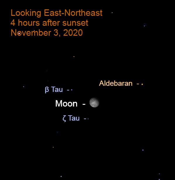 The Moon in Taurus, November 3, 2020