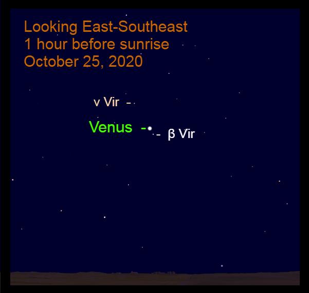 Venus in Virgo, October 25, 2020