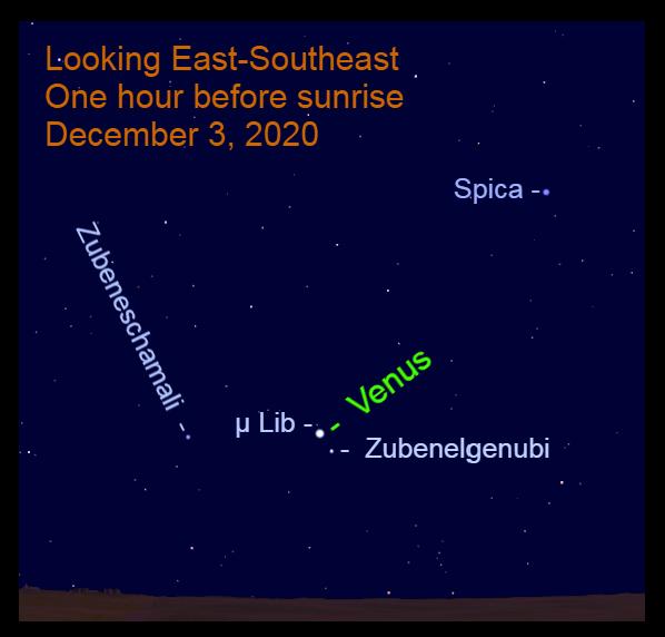 Venus in Libra, December 3, 2020