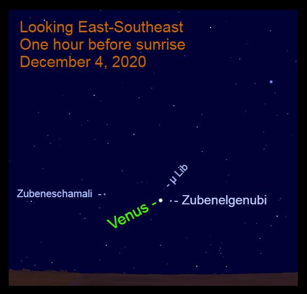 Venus in Libra, December 4, 2020