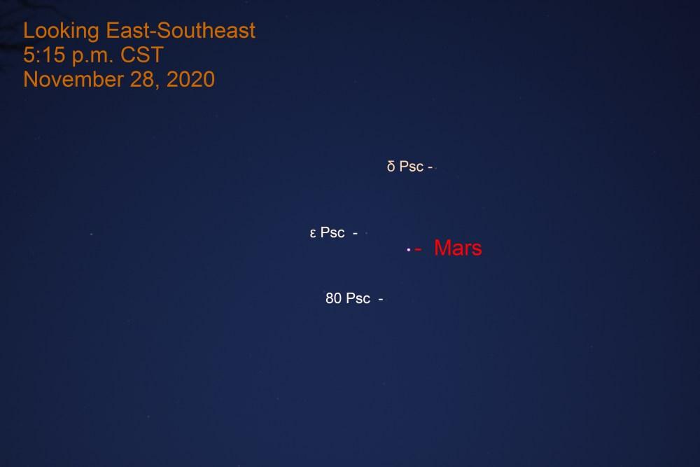 Mars, November 28, 2020