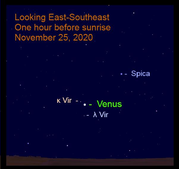 Venus, November 25, 2020