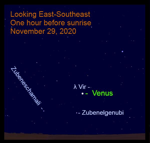 Venus in Libra, November 29, 2020