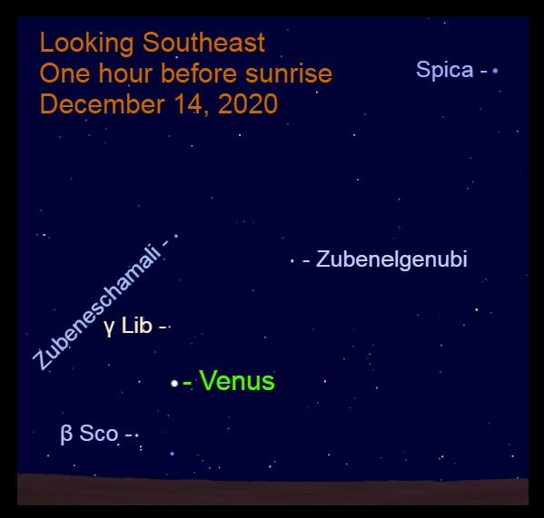 Venus, December 14, 2020.