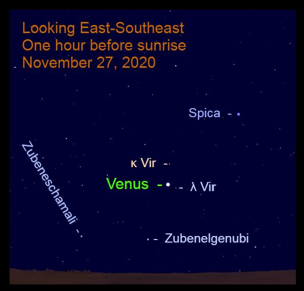 Venus in Pisces, November 27, 2020