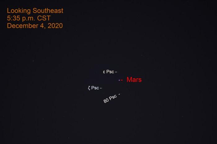 Mars, December 4, 2020