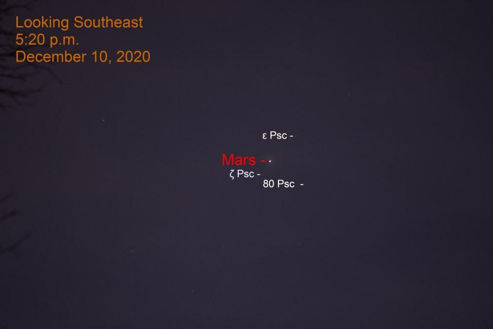 Mars, December 10, 2020