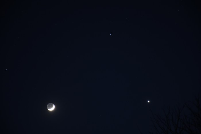 Moon and Venus, 2020