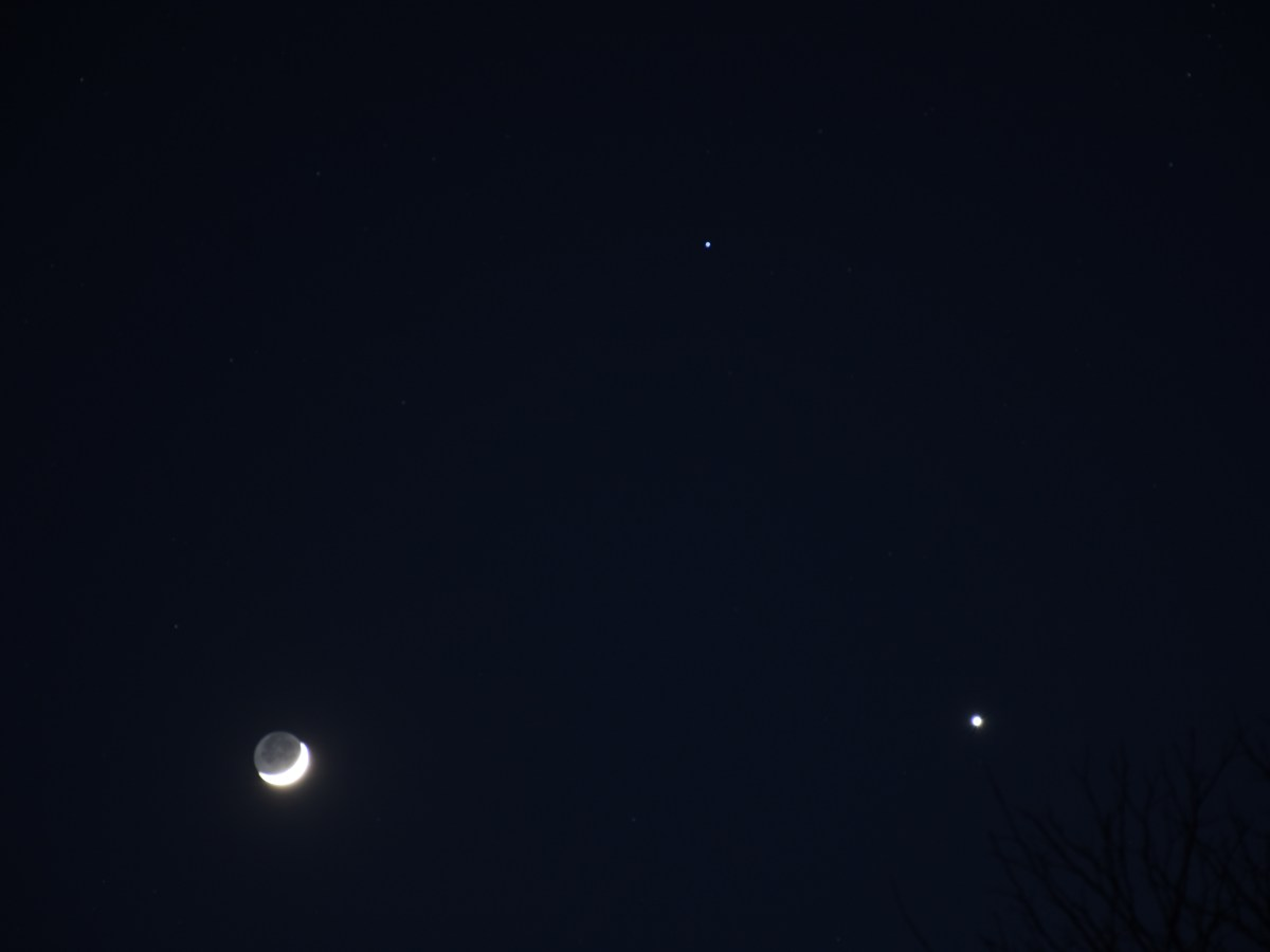 Moon and Venus, 2020