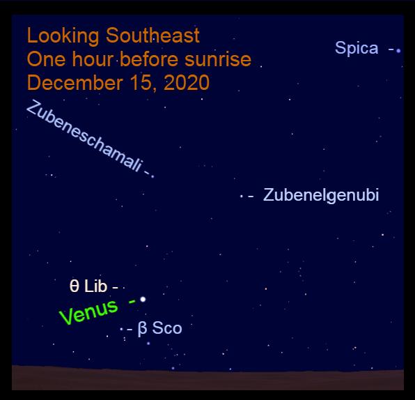 Venus, December 15, 2020