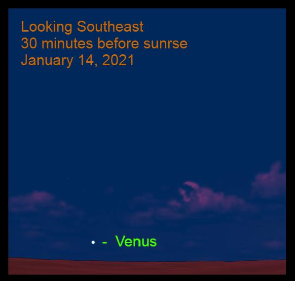 Venus, January 14, 2021