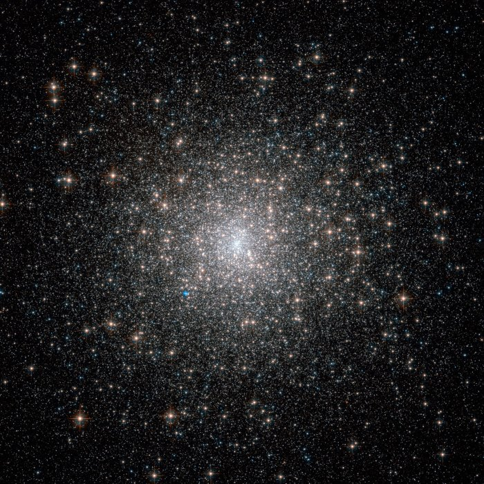 The dazzling stars in Messier 15 look fresh and new in this image from the NASA/Hubble Space Telescope, but they are actually all roughly 13 billion years old, making them some of the most ancient objects in the Universe.