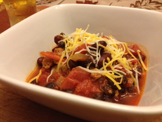 Turkey Sausage Chili