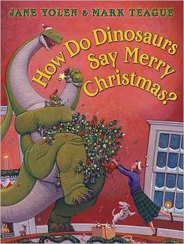 dinosaurs say merry christmas