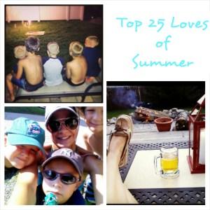 Top 25 Loves of Summer