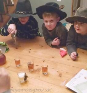 saloon bandits