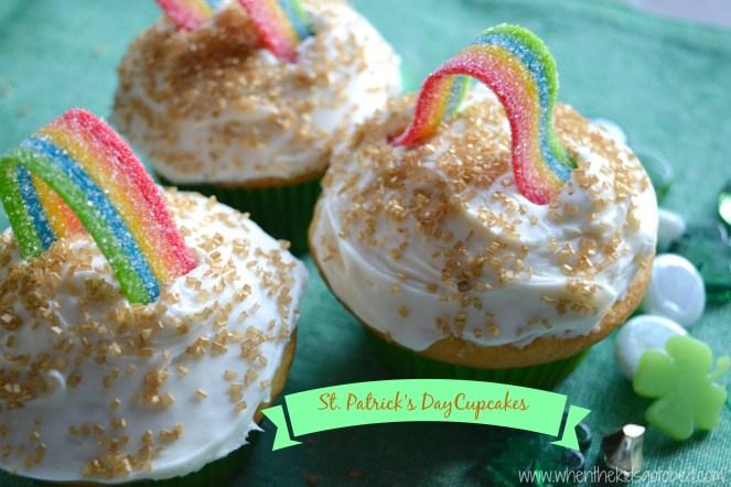 St Patricks Cupcakes