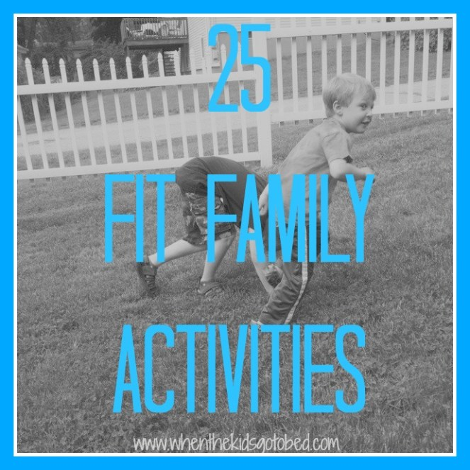 Fit family activities