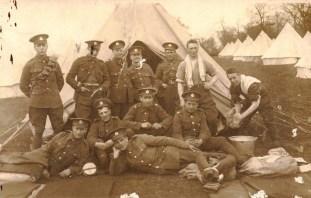 Royal Engineers soldiers at Haynes Park