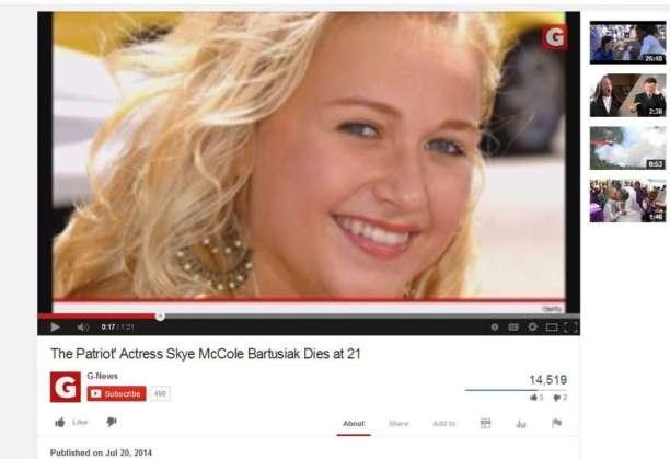 Smiling Skye McCole Bartuskiak