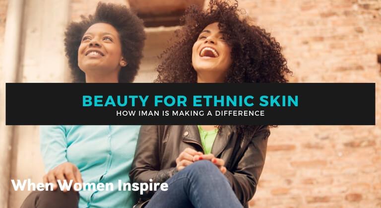 Maquillage pour peau ethnique