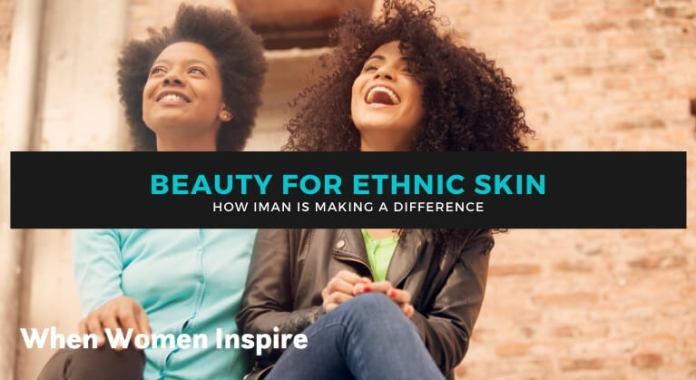 Makeup for ethnic skin