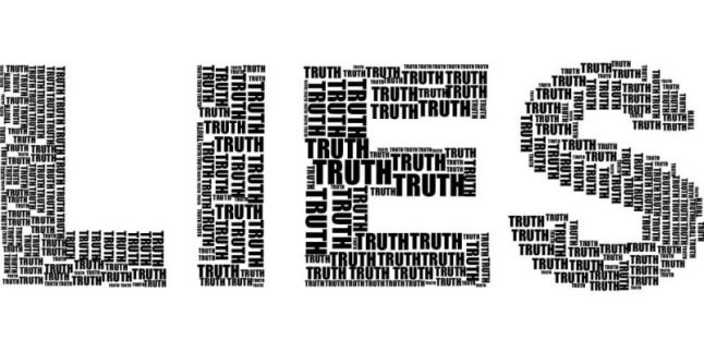 Lies, Truth. Is it black and white?