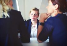 Women making business decisions