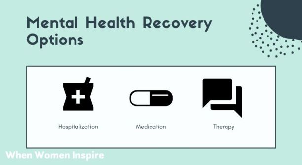 Mental health recovery options list