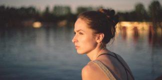 Woman low self-esteem