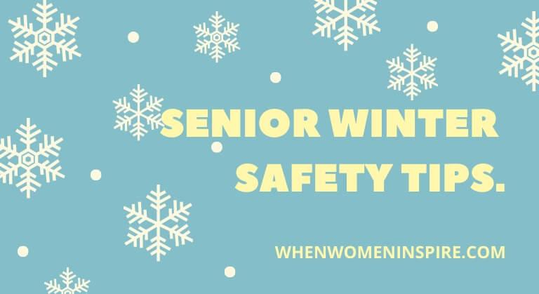 Senior winter safety