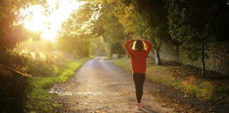 Check health symptoms after you go for a jog; it won't take long.