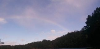 A rainbow is motivating to see