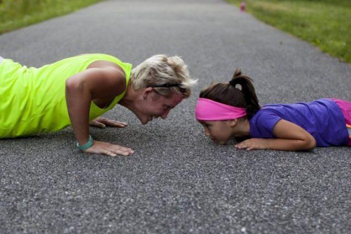 Exercising as a family
