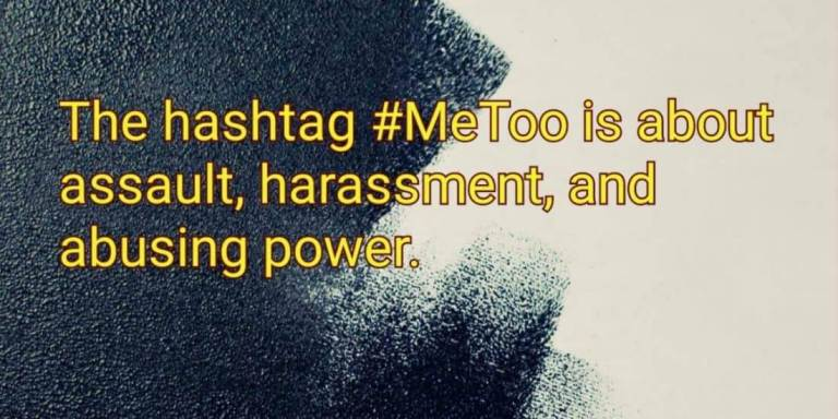 What is #MeToo