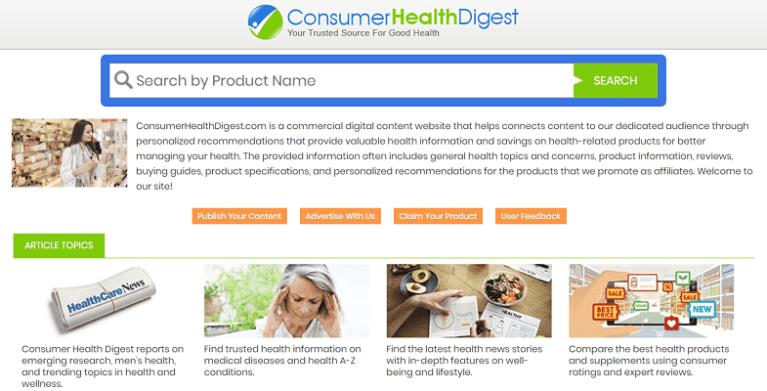 ConsumerHealthDigest.com