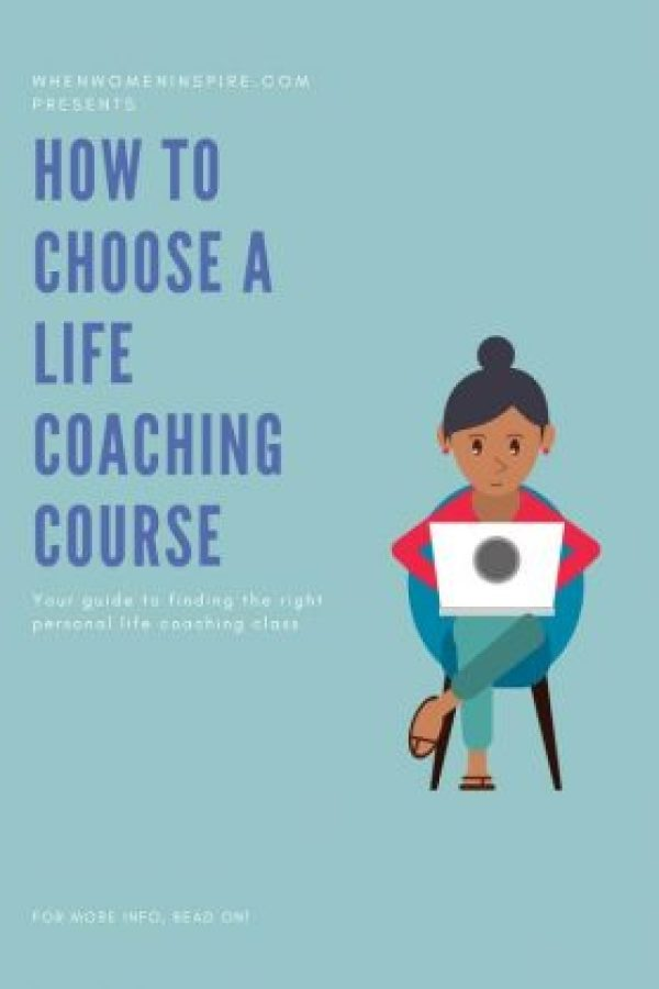 Life coaching course selection tips