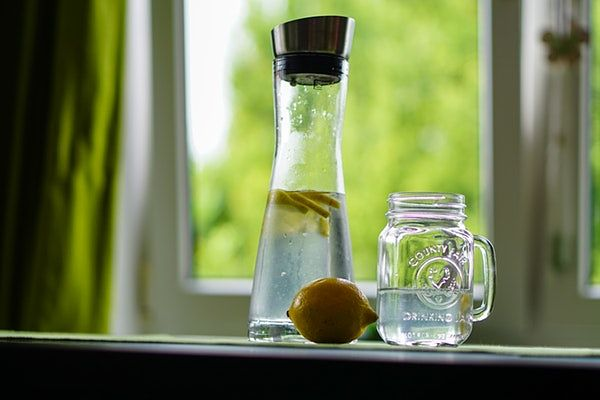detox naturally with more water