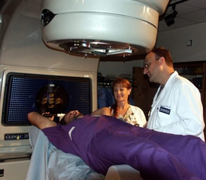 Cancer and options for treating it, such as radiation and physical therapy