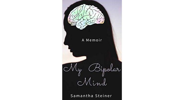 My Bipolar Mind book cover by Samantha Steiner