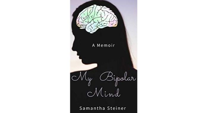 My Bipolar Mind book cover by Samantha Steiner