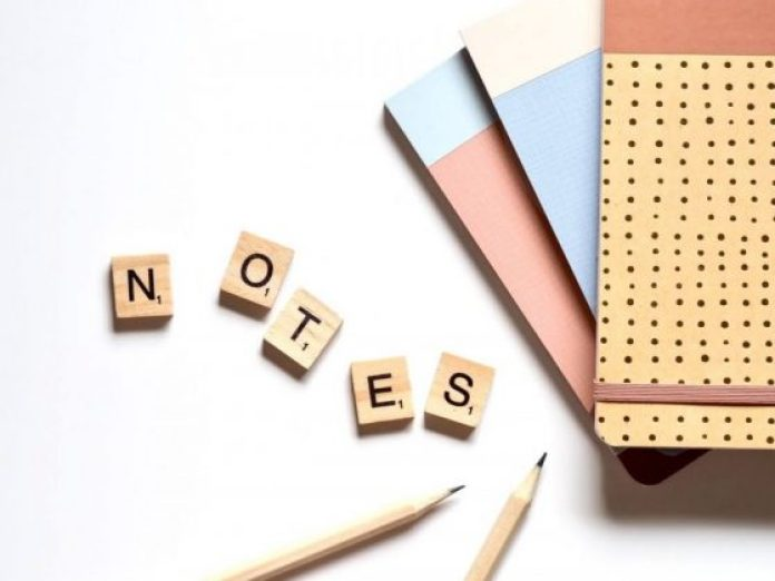 Organize your life by keeping notes and calendars.