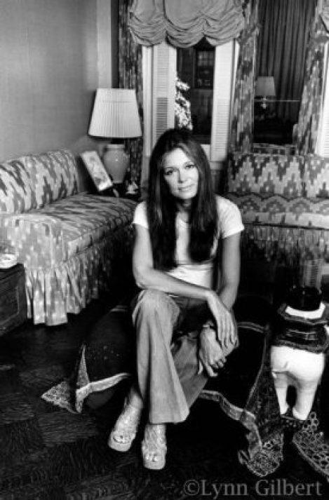 Bunny's Tale de Gloria Steinem, présenté ici en noir et blanc