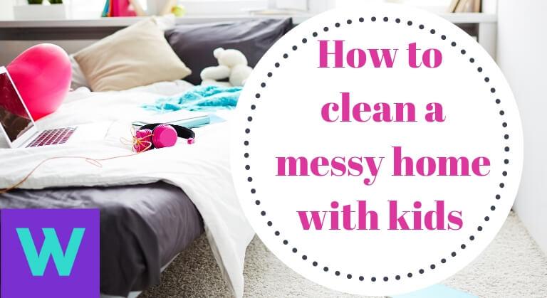 Messy house kids