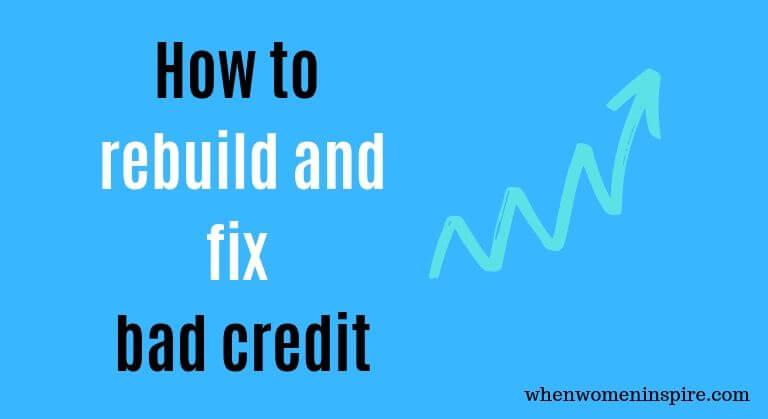 Fix bad credit