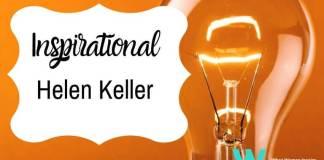 Helen Keller biography inspires